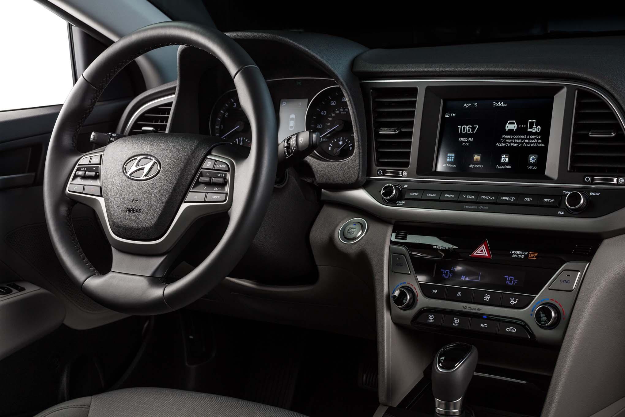 2017 Hyundai Ioniq Hybrid Plug In Hybrid Electric Revealed
