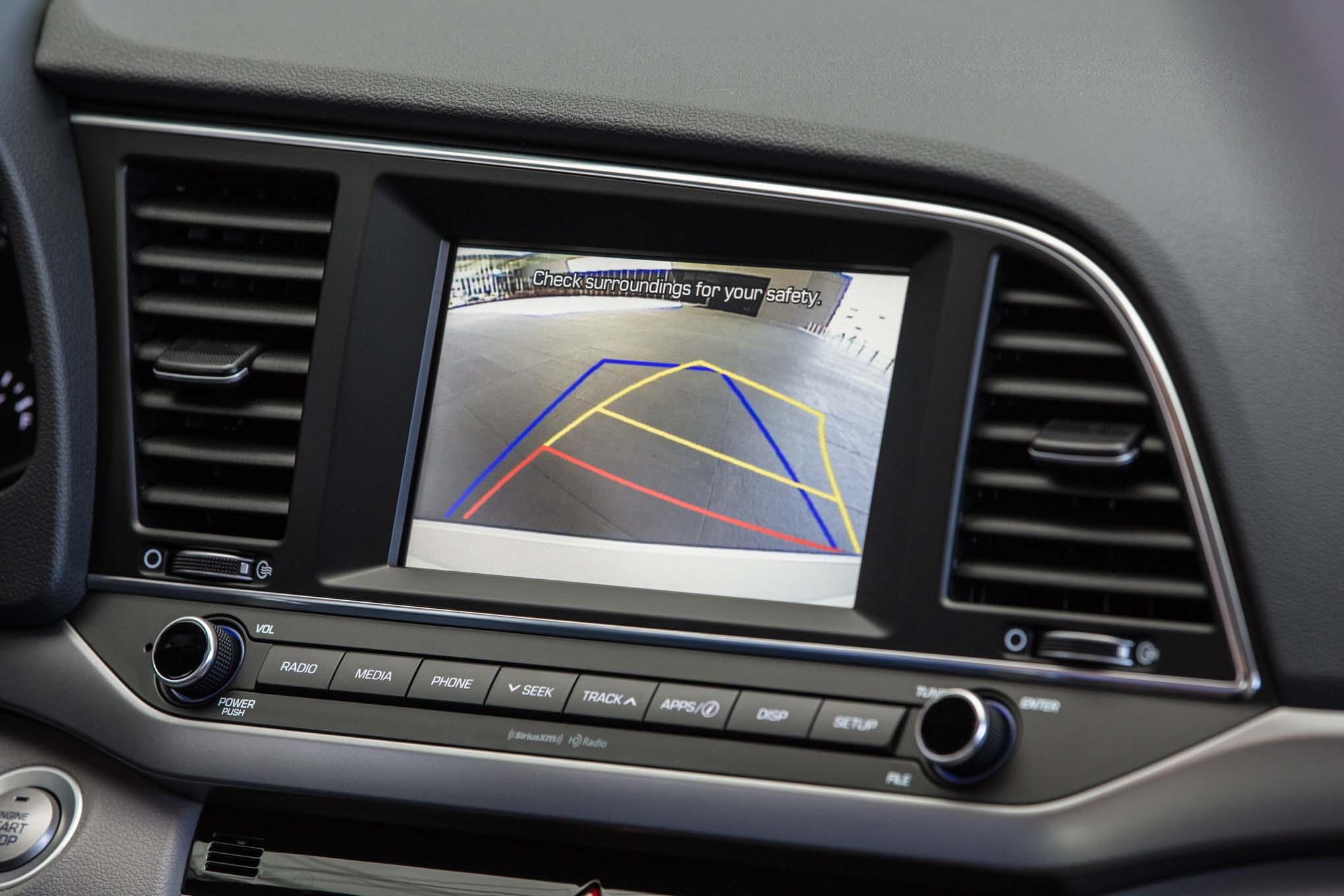 2017 Hyundai Elantra Eco Rearview Camera