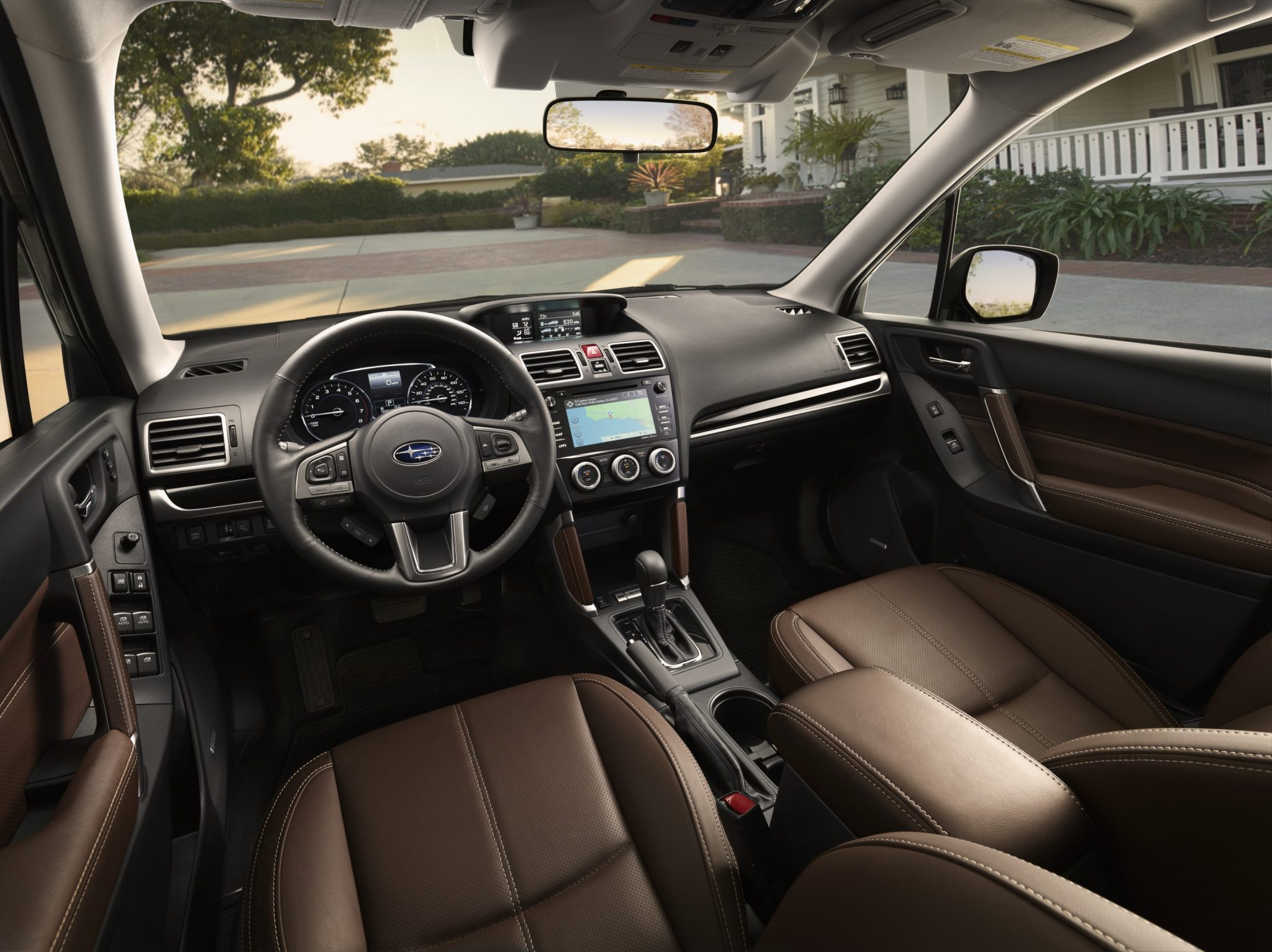 2017 subaru forester gets mild updates inside and out 5656 vanachro Gallery