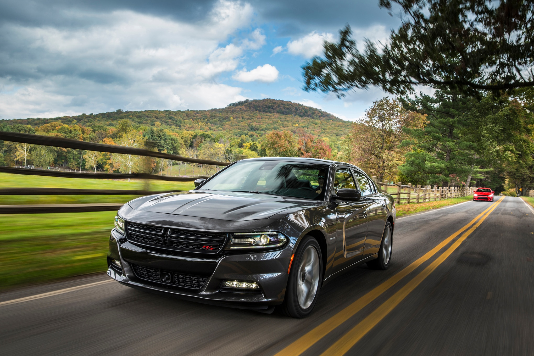 charger dodge rt scat pack front specs motortrend cars