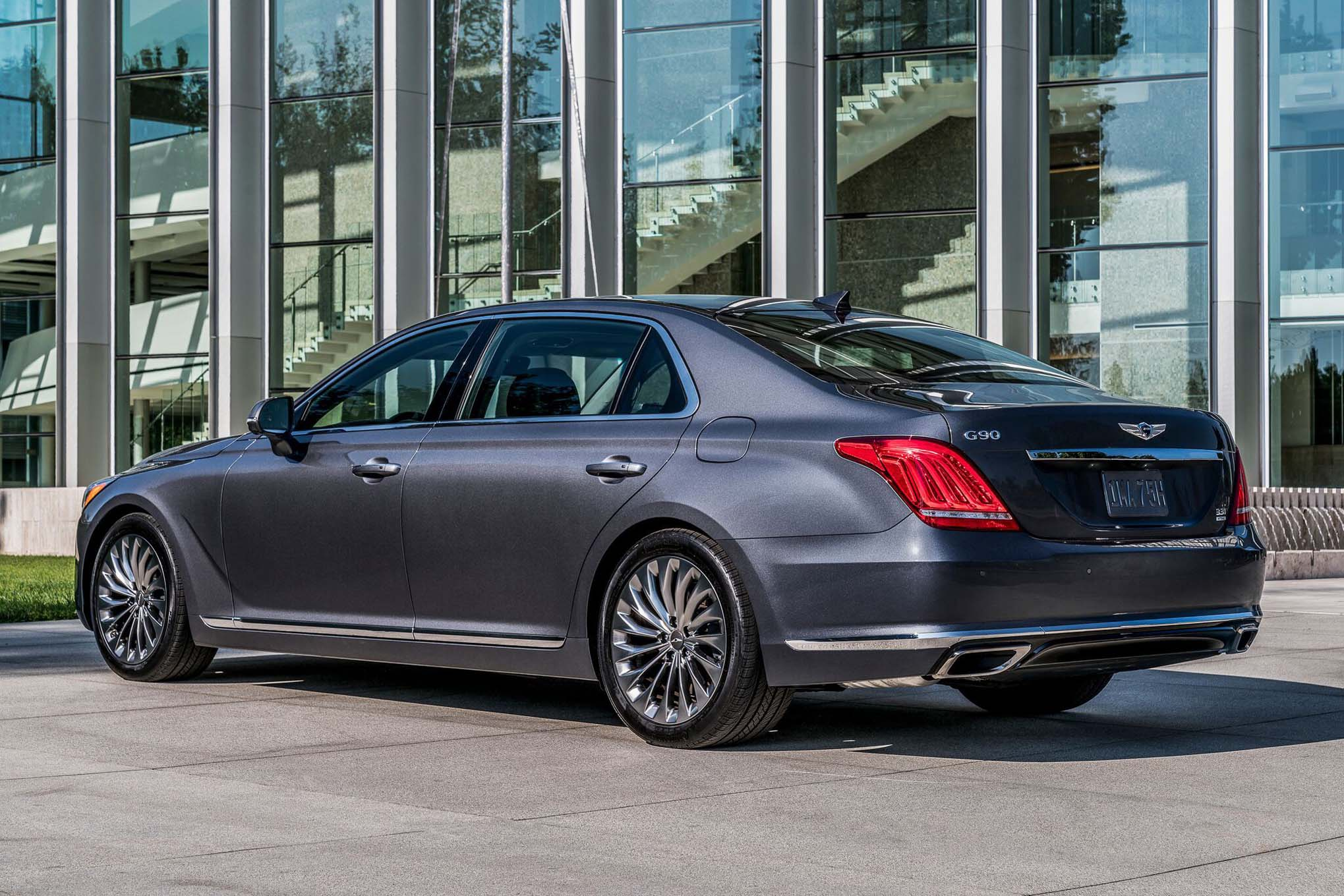 2017 genesis g80 is 2 650 more expensive than hyundai. Black Bedroom Furniture Sets. Home Design Ideas