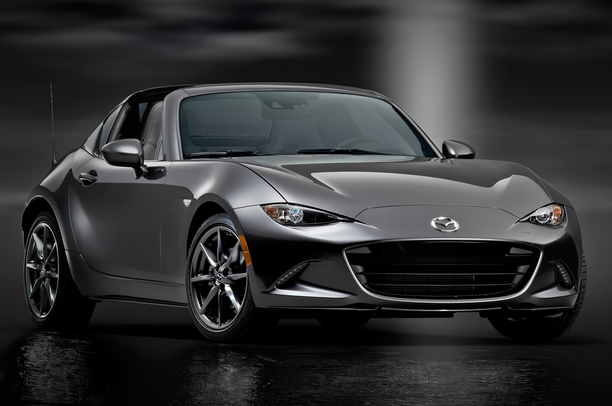 5 things to know about the 2017 mazda mx 5 miata rf automobile magazine. Black Bedroom Furniture Sets. Home Design Ideas