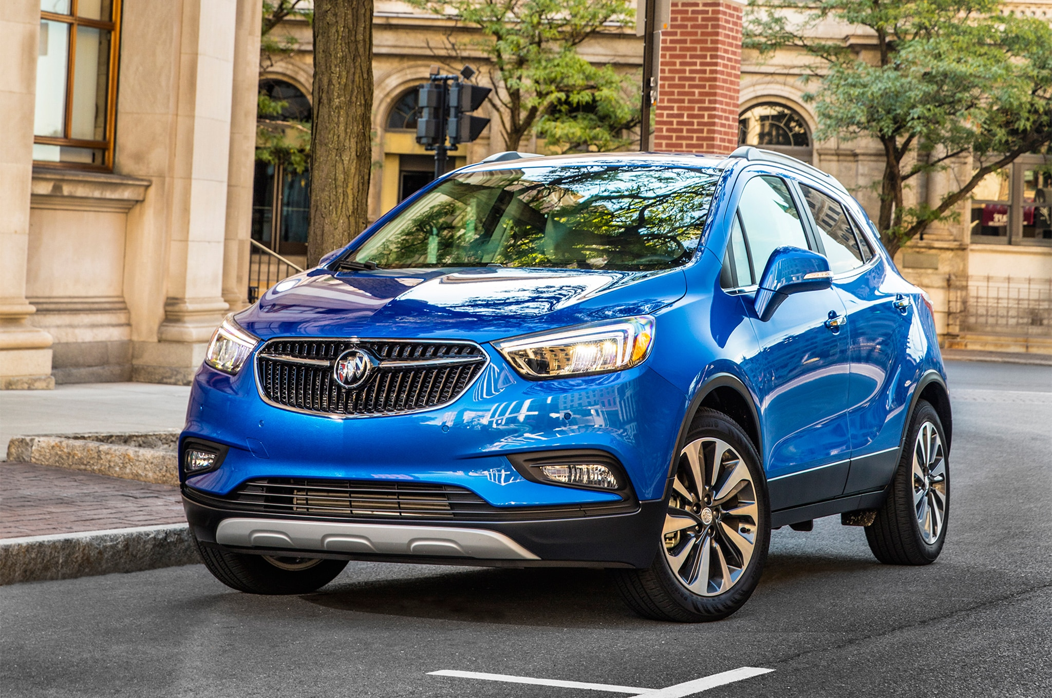 2017 buick encore refreshed at new york auto show automobile magazine. Black Bedroom Furniture Sets. Home Design Ideas