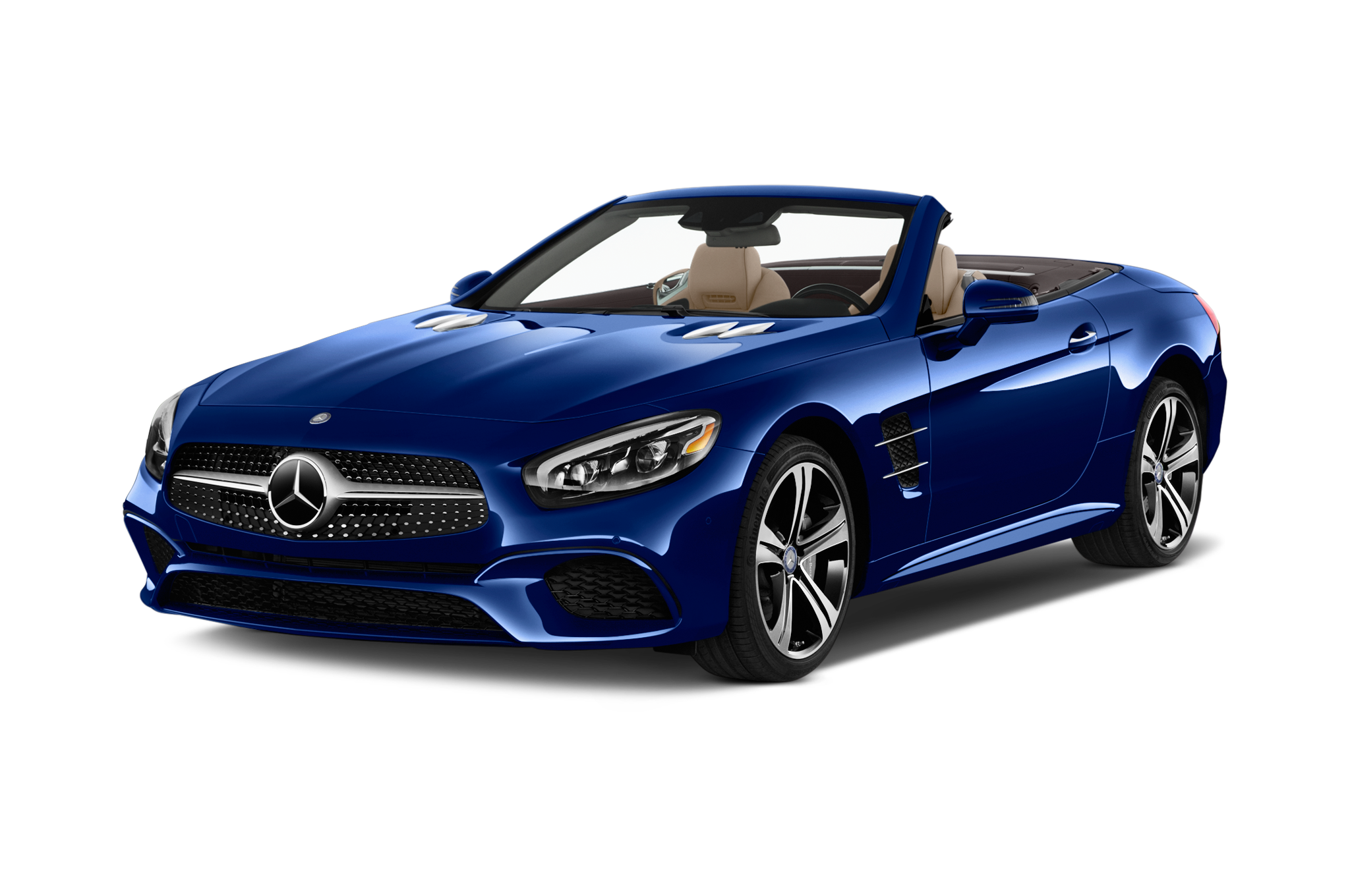 2017 mercedes benz sl review automobile magazine for Convertible mercedes benz 2017