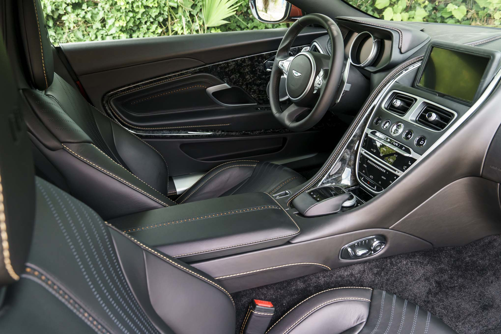 aston martin db11 spied with mercedes benz interior components. Black Bedroom Furniture Sets. Home Design Ideas