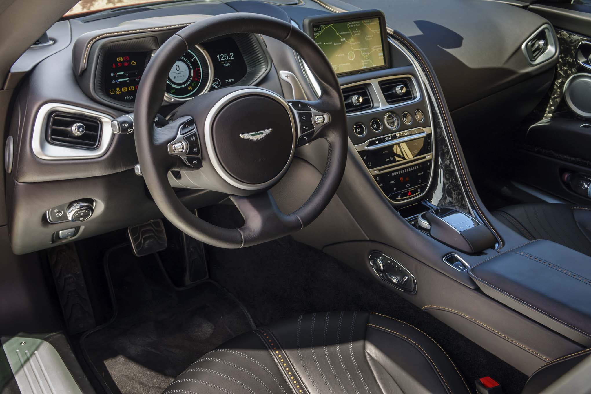 Aston Martin Db11 Spied With Mercedes Benz Interior Components