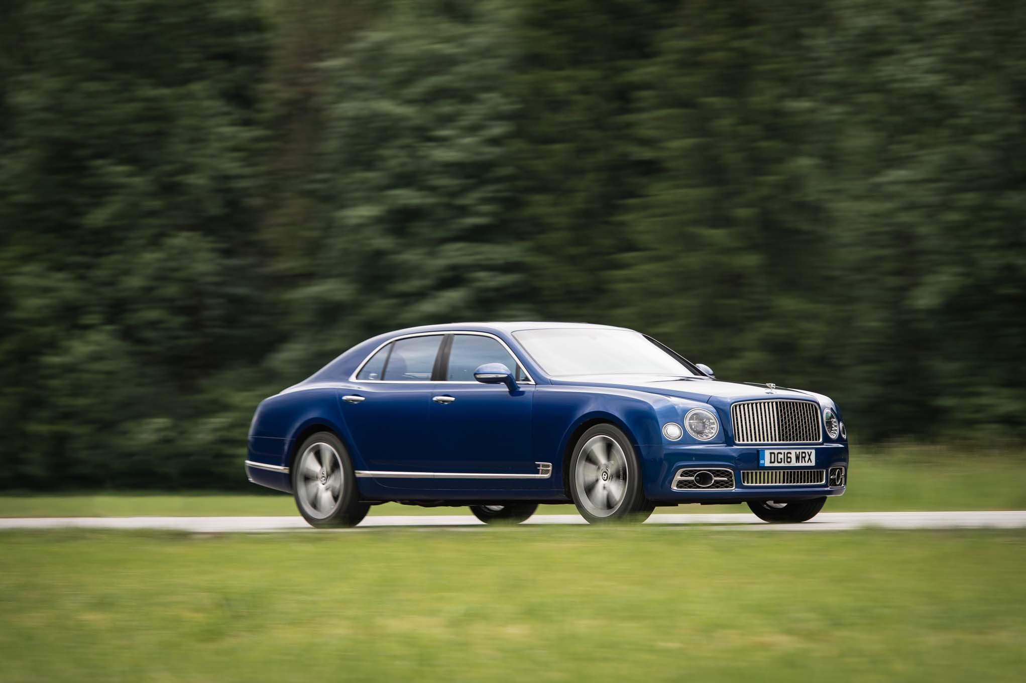 2017 Bentley Mulsanne Refreshed Adds Extended Wheelbase