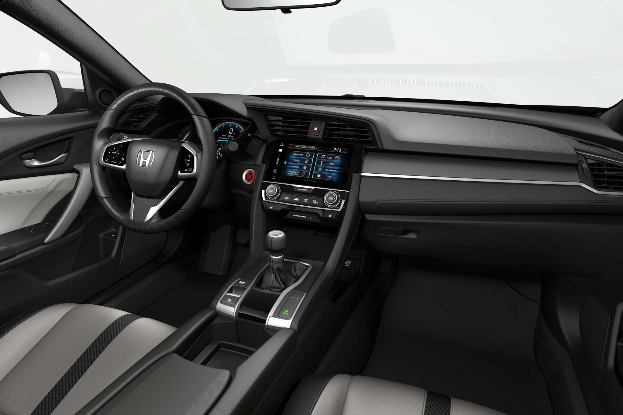 A few minutes with the 2018 honda civic type r s lead - 2016 honda civic si coupe interior ...
