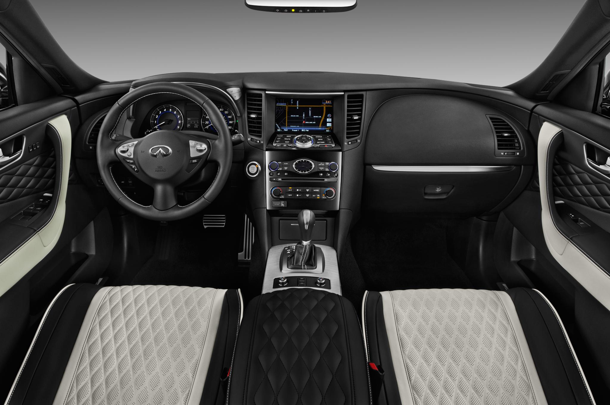 Santa Fe Suv >> 2017 Infiniti QX70 Limited Debuts at 2016 New York Auto Show