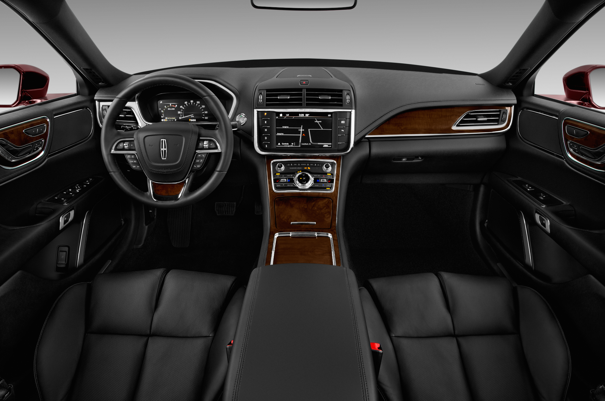 2017 lincoln continental interior spied with sync 3 wood trim. Black Bedroom Furniture Sets. Home Design Ideas