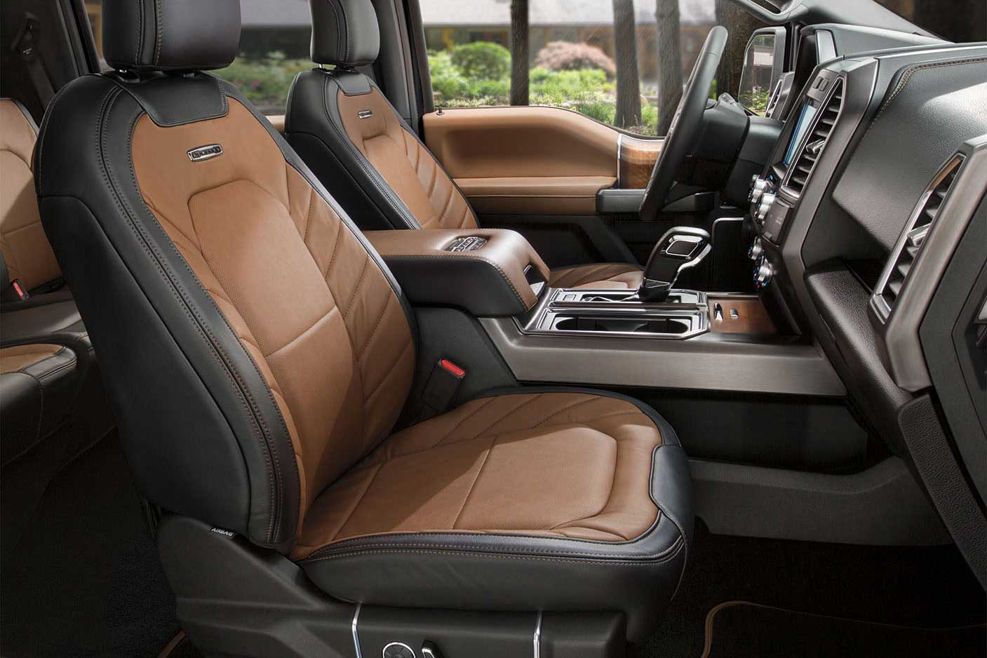 Ford F Limited Interior Overview