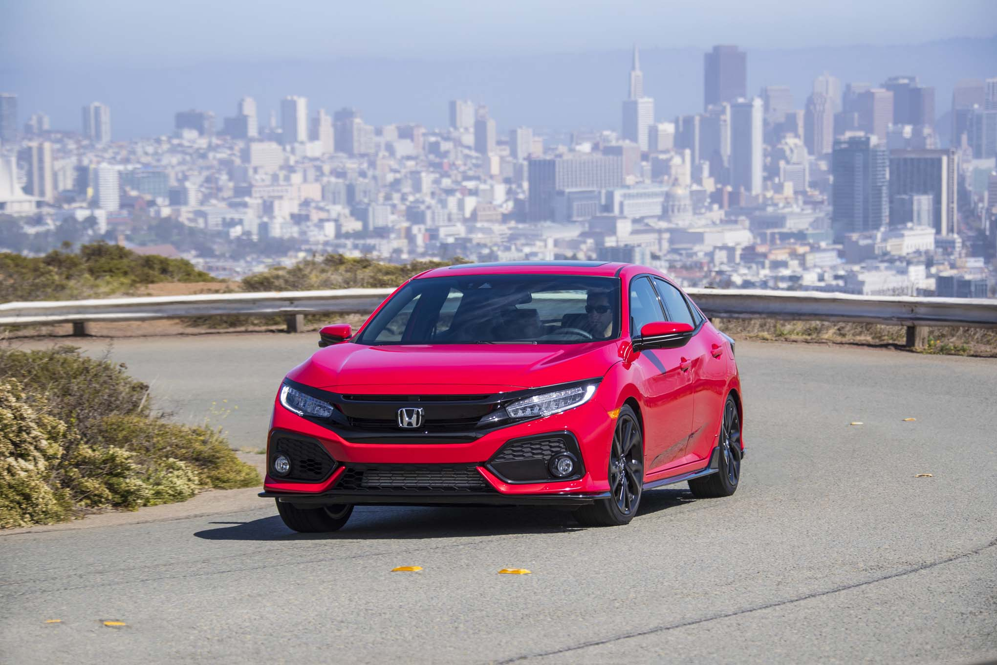 production spec 2017 honda civic si arrives via youtube automobile magazine. Black Bedroom Furniture Sets. Home Design Ideas