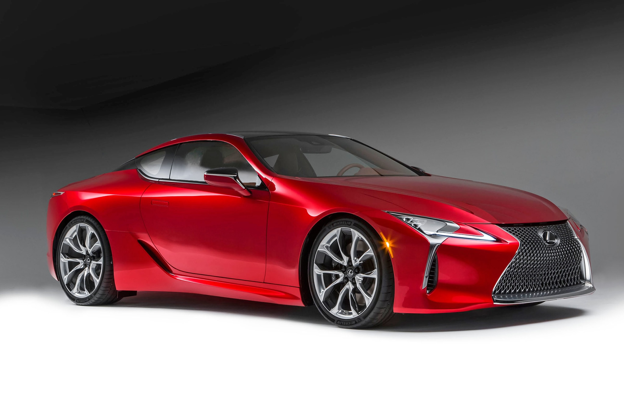 lexus lc 500h hybrid coupe to debut in geneva automobile magazine. Black Bedroom Furniture Sets. Home Design Ideas