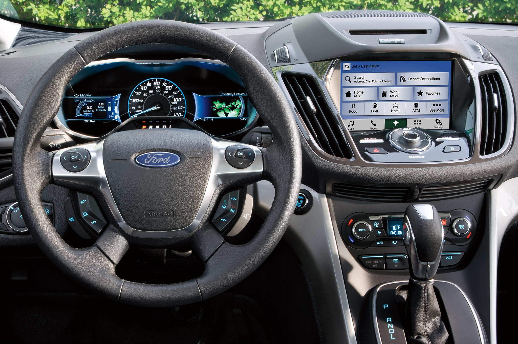 2017 ford c max receives new titanium trim lower starting. Black Bedroom Furniture Sets. Home Design Ideas