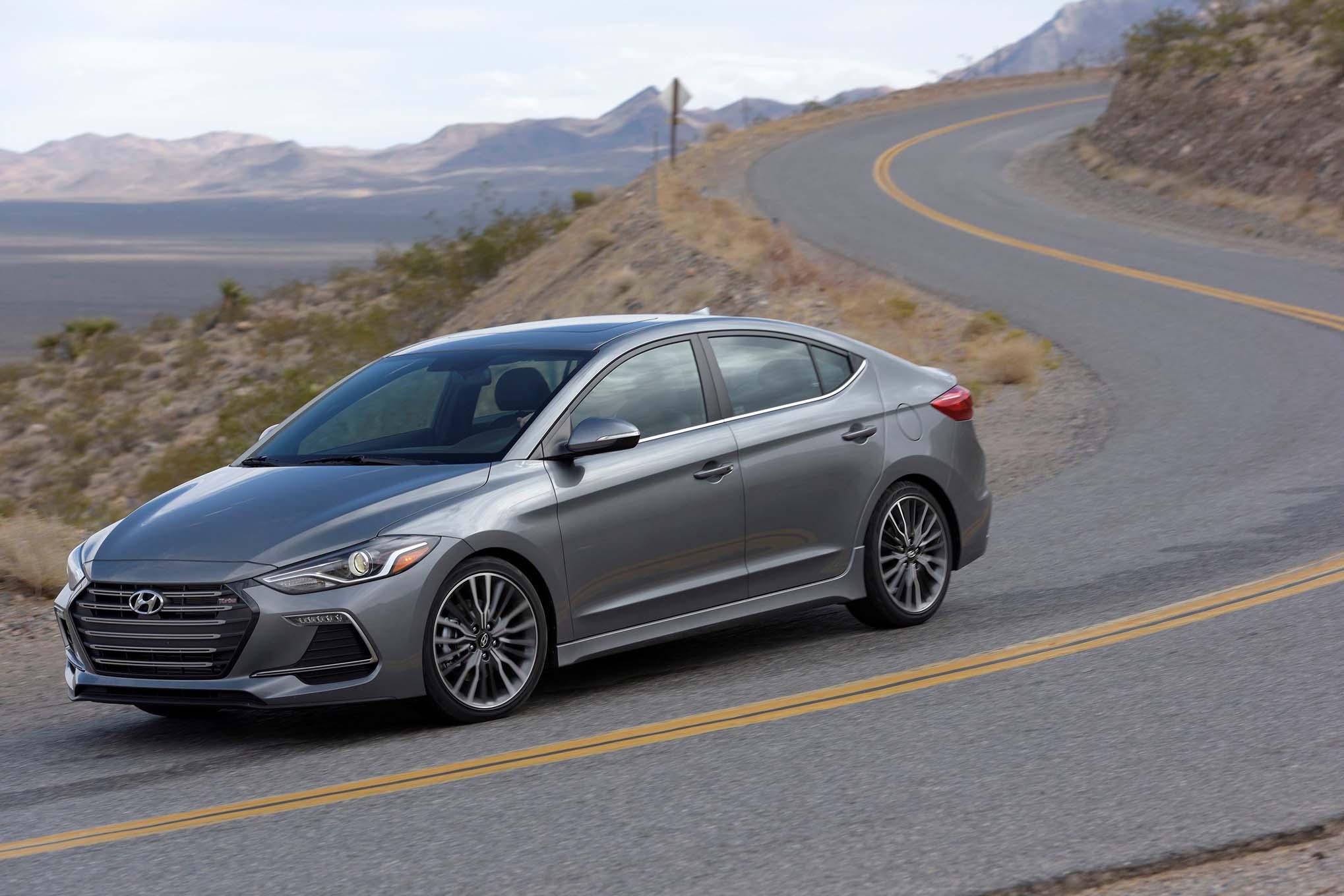 Turbocharged Hyundai Elantra Sport Revealed in Korea  Automobile