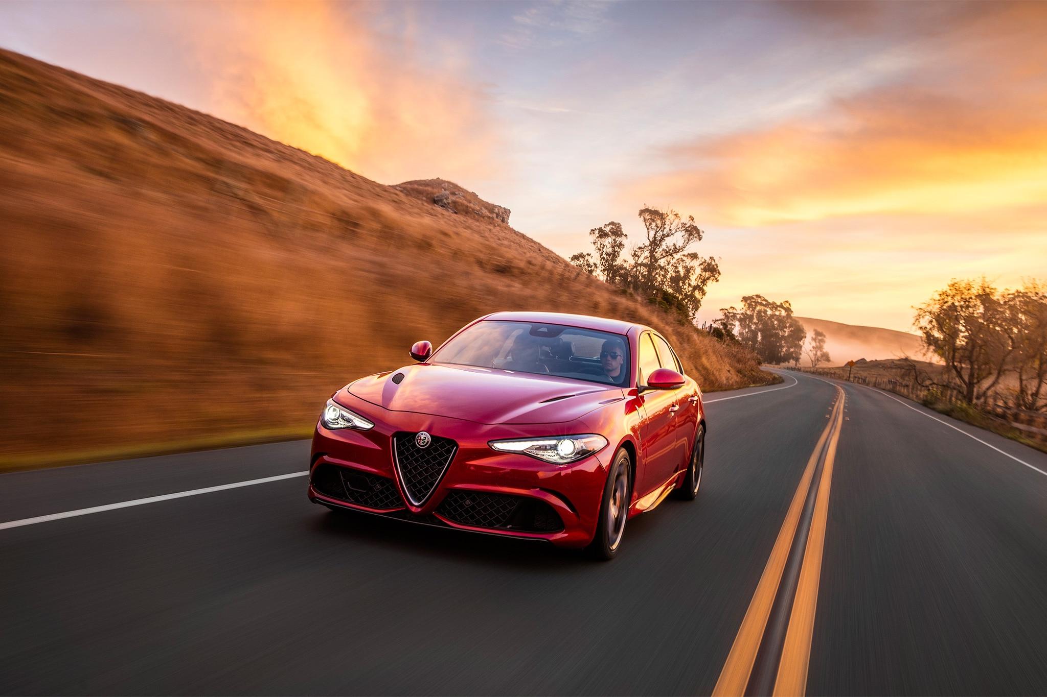 2017 Alfa Romeo Giulia Quadrifoglio, Giulia Ti Engine Details