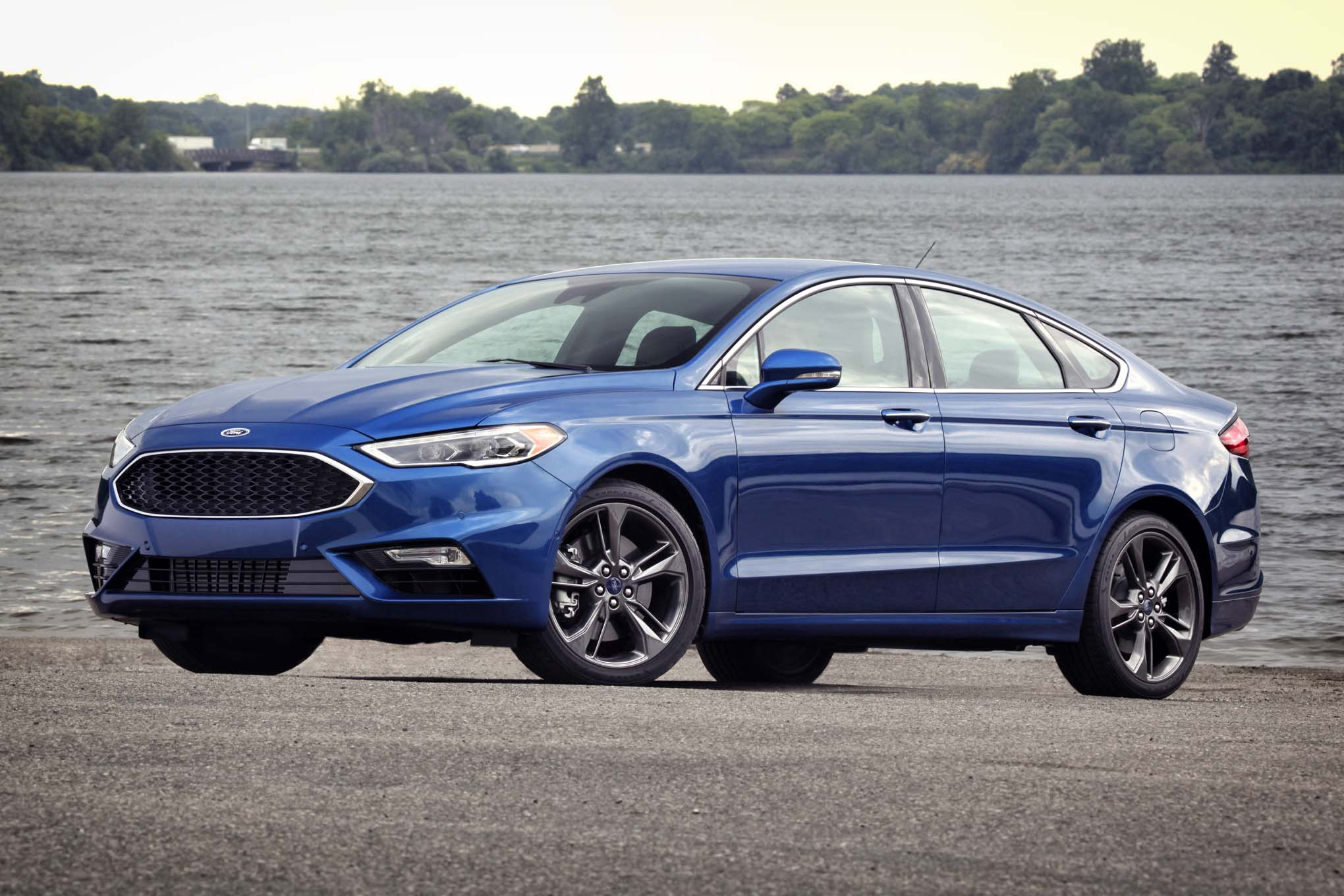 2017 Ford Fusion Sport front three quarter 2017 ford fusion review 2016 ford fusion wiring diagram at bayanpartner.co