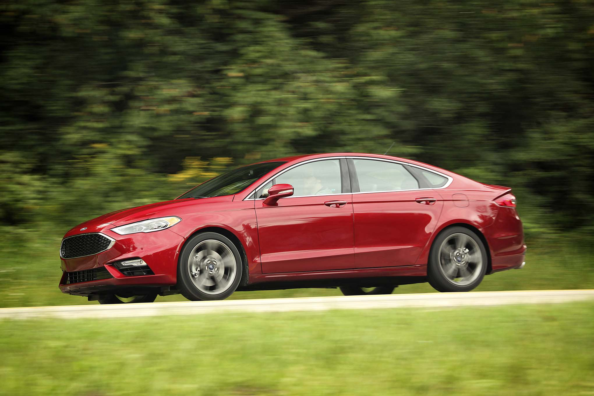 Luxury 2017 Ford Fusion Review