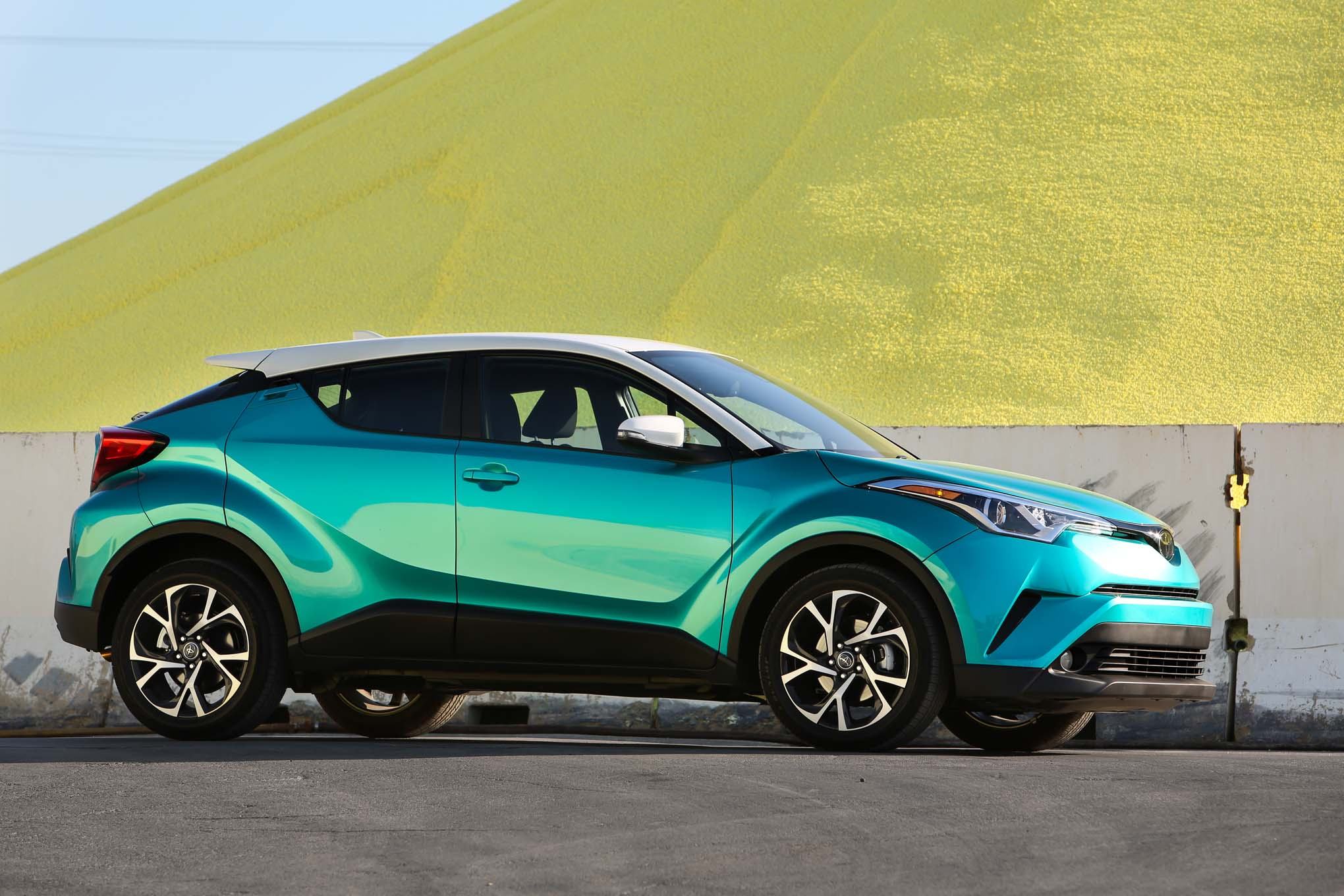 Modified Toyota CHR Crossover Heading to 24 Hours of Nurburgring