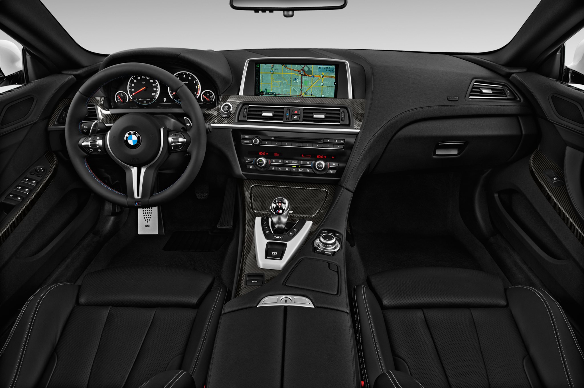 BMW M8 Prototype Shows Off Interior | Automobile Magazine