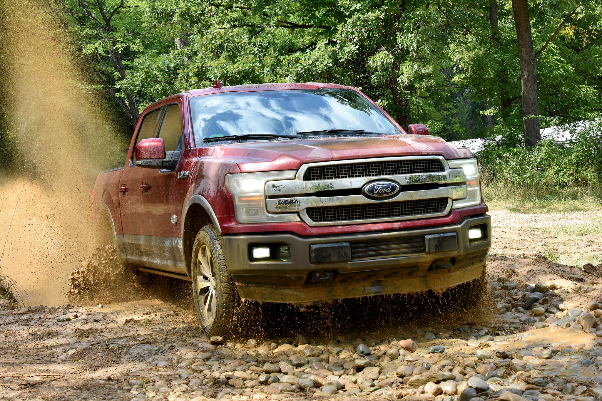 Ford dealership builds f 150 lightning that fomoco won t for Newspaper wallpaper for sale
