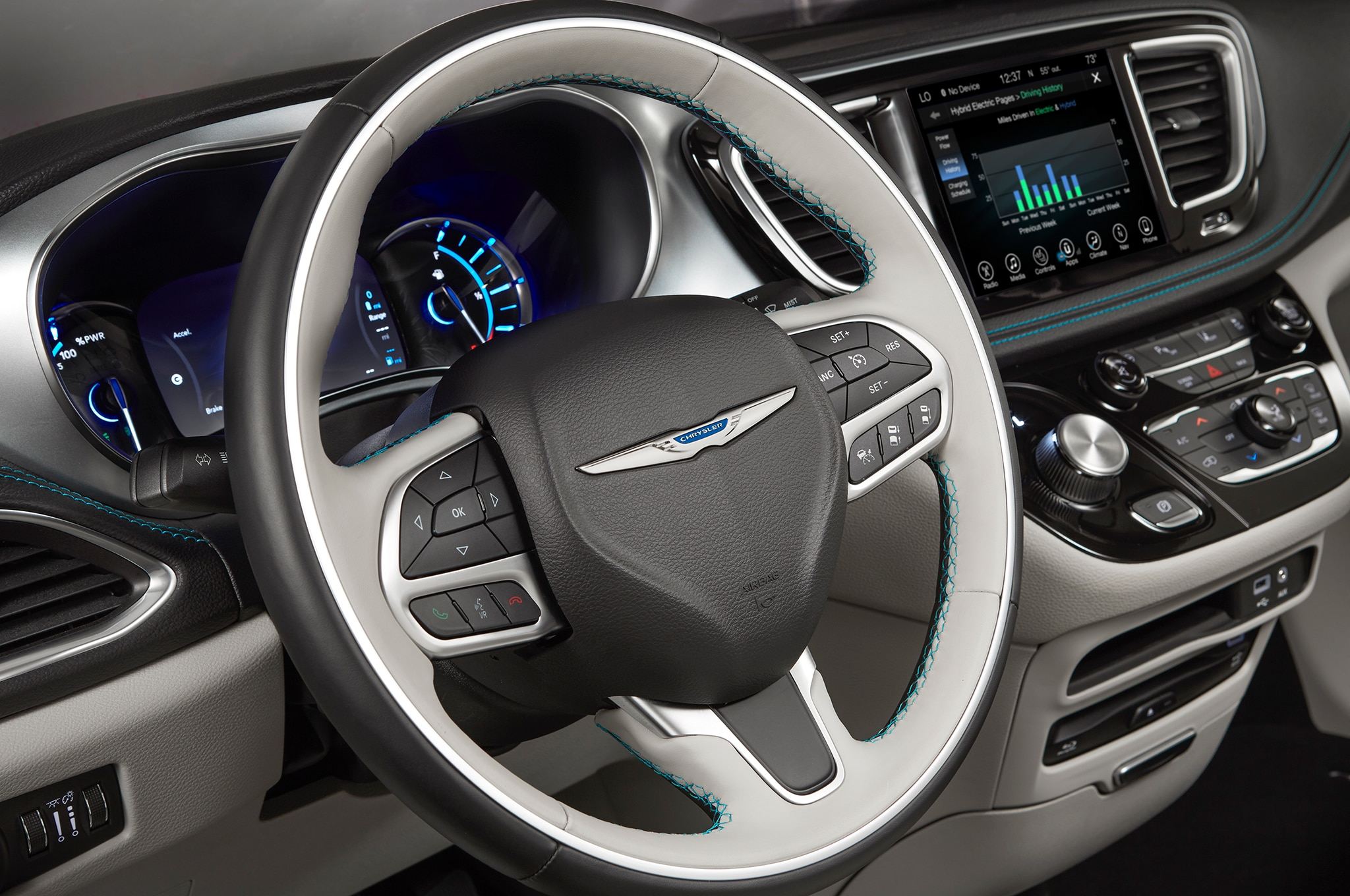 2018 chrysler pacifica adds s appearance package automobile magazine. Black Bedroom Furniture Sets. Home Design Ideas