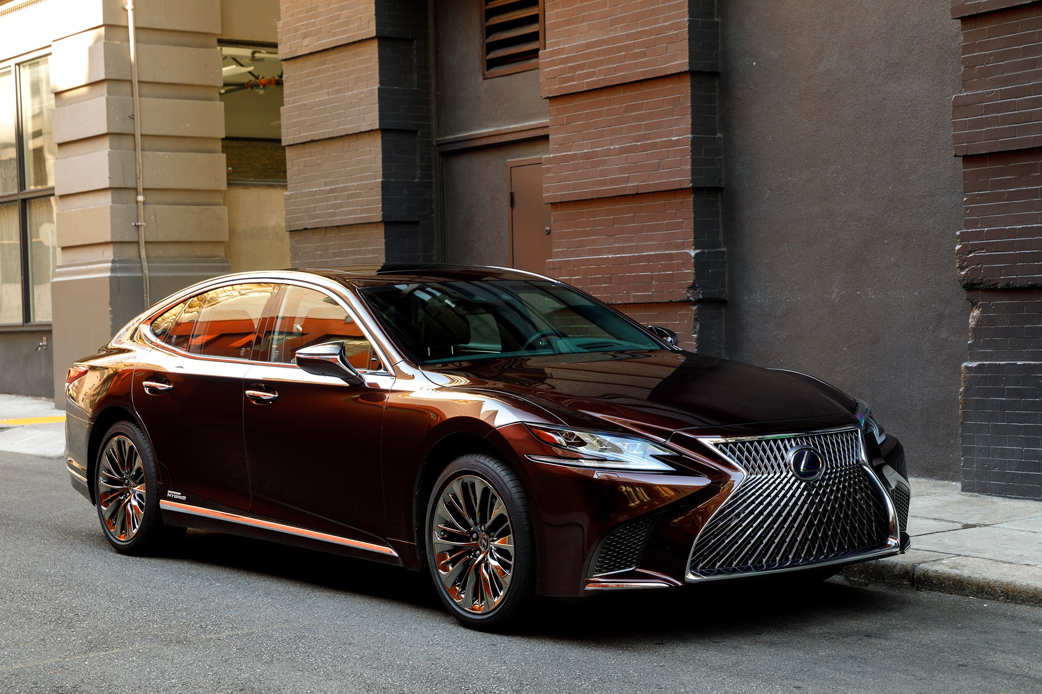 2018 lexus ls 500 f sport adds visual aggression handling pack to halo sedan automobile magazine. Black Bedroom Furniture Sets. Home Design Ideas