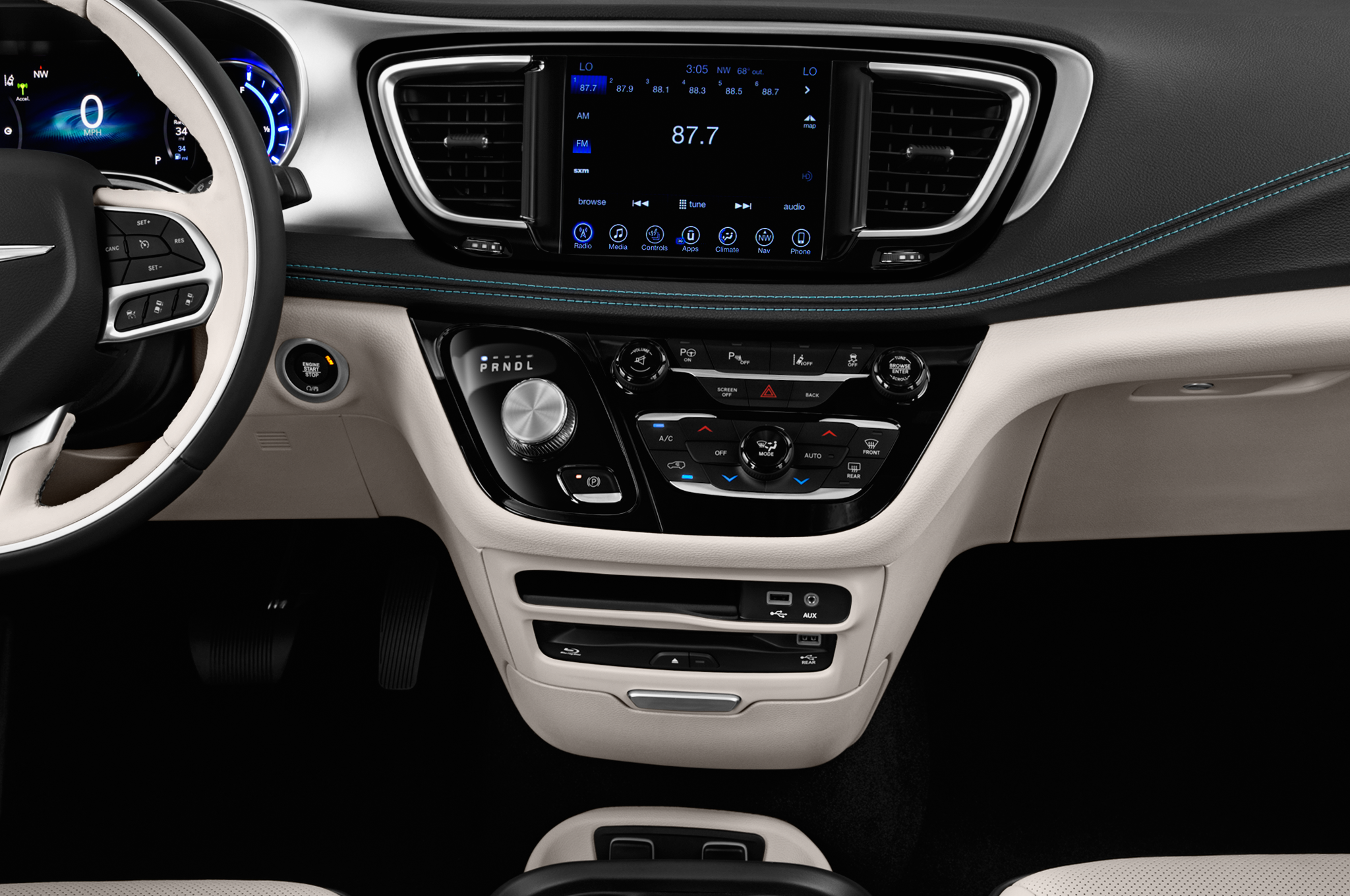 Autonomous Chrysler Pacifica Hybrids Ready To Roll In 2017