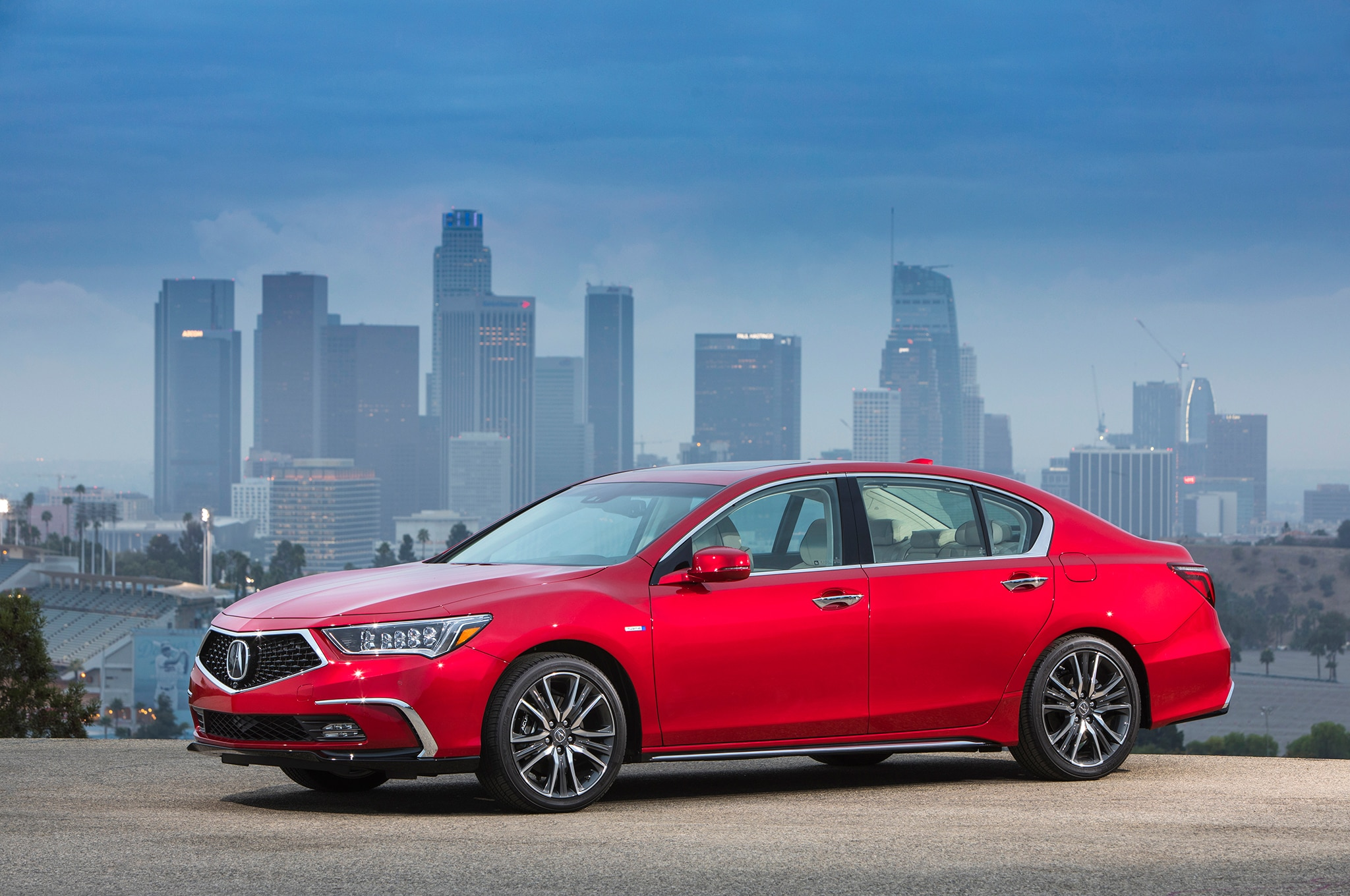 2018 Acura RLX Arrives With New Diamond Pentagon Grille