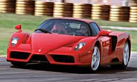 0210 Enzopl Ferrari Enzo Ferrari Enzo Full Front View