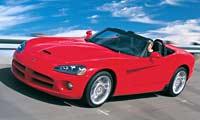 0206 Pl Dodge Viper SRT10 Front Drivers Side View