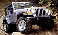 0210 Wranglerpl Jeep Wrangler Rubicon Jeep Wrangler Rubicon Full Front Grill View