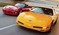 0211_Corvettepl Corvette_Viper_Chevrolet_Corvette_And_Dodge_Viper_SRT10 Full_Front_Views
