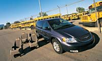 0212 Tcpl Chrysler Town Country 2001 2004 Chrysler Town And Country Front View