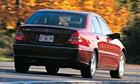 0302_C230pl_Mercedes_Benz_C320 Mercedes_Benz_C320 Full_Rear_View
