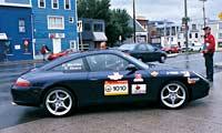 0303 Targapl Porsche 911 Targa 2002 2004 Porsche 911 Targa Full Passenger Side View