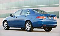 0304_Tsxpl_Acura_TSX Acura_TSX Driver_Side_Rear_View