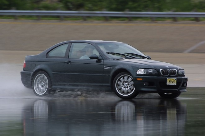 2002 BMW M3 Front Three Quarter In Motion 660x438