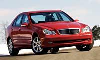 0305_230pl_Mercedes_Benz_C230k Mercedes_Benz_C230_Kompressor_Sport Full_Front_Grill_View