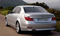 0307_530pl_BMW_5_Series BMW_5Series Full_Rear_View