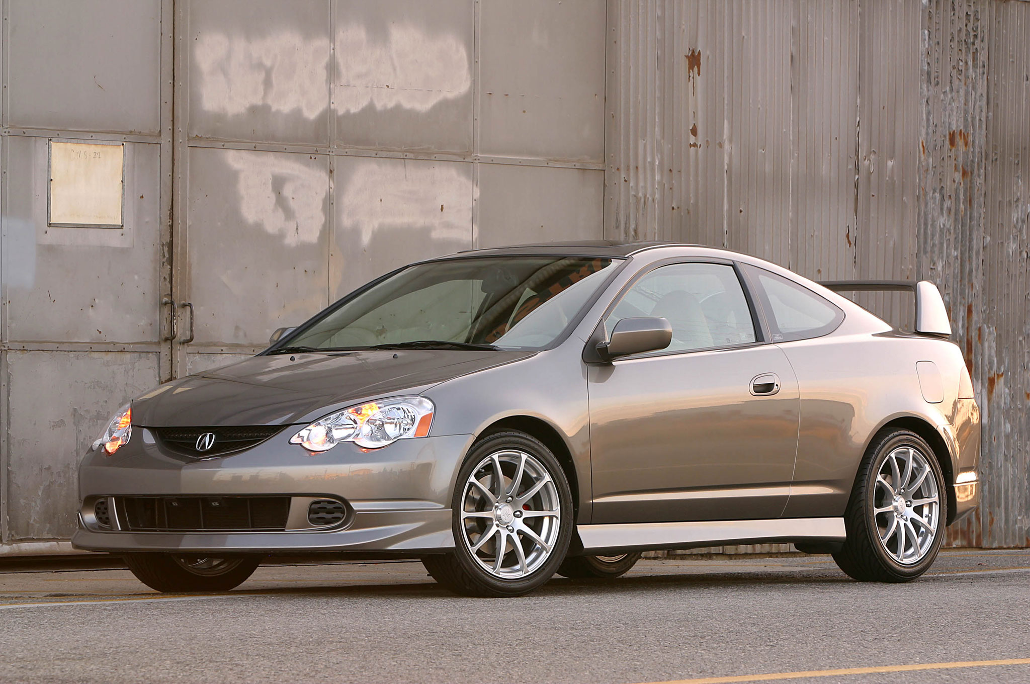 Acura Rsx Type S Factory Performance Package Front Three Quarter