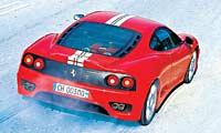 0308 Cspl Ferrari 360cs 2000 2004 Ferrari 360 Modena Challenge Stradale Rear Overhead View
