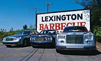 0308 Luxurypl Super Luxury Bentley Arnage R And Maybach 57 And Rolls Royce Phantom Various Front Views