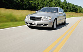 The oldest car here, the S-class actually has ripened with age.