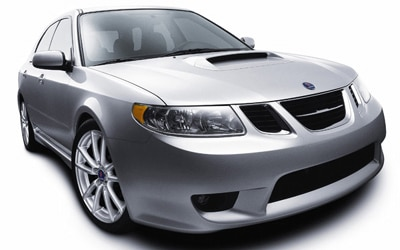 The 2005 Saab 9-2X sport wagon.