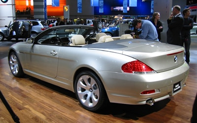 bmw 645ci convertible 2004 naias detroit auto show. Black Bedroom Furniture Sets. Home Design Ideas