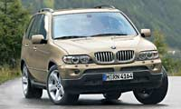 0402 5pl BMW X5 BMW X5 4 4i Full Front Grill View