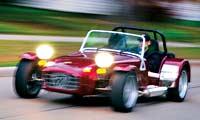 0402 Pl Caterham Super 7 SV Front Drivers Side View