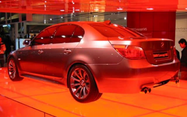 Geneva 2004 - BMW Concept M5 - Automobile Magazine