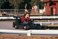 GO-KARTS: HAVE ENGINE, WILL DRIVE